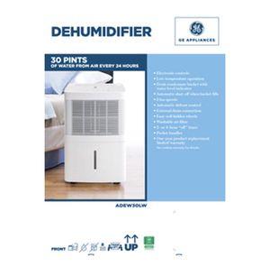 GE 30 Pint Dehumidifier for Sale in Powder Springs, GA