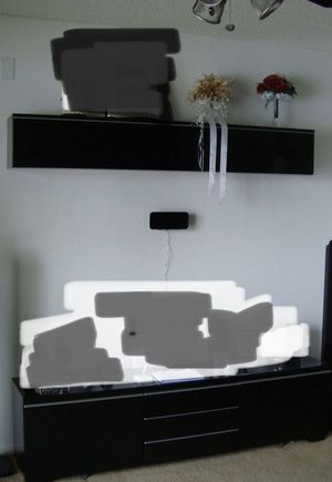 TV UNIT AND STORAGE for Sale in Fort Lauderdale, FL