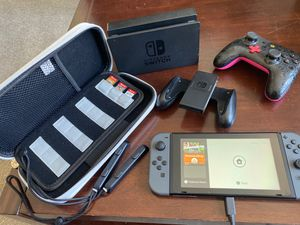 Nintendo Switch + 3 Games & Case for Sale in Gaithersburg, MD