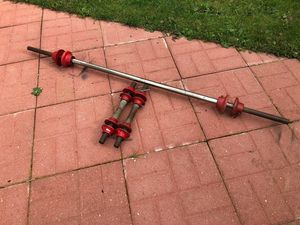 York Barbells - Gym Equipment - Dumbbell Handles - Work Out Equipment for Sale in Downers Grove, IL