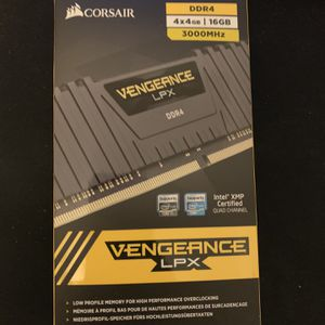 Corsair 4x4gb 16gb Cl16 3000mhz for Sale in Las Vegas, NV