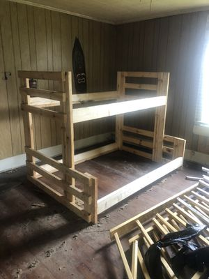 Twin over full. Bunk bed for Sale in Gaffney, SC