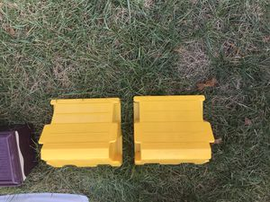 Camco leveling block wheel chocks for Sale in Middleborough, MA