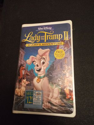 Lady and the tramp 2 vhs sealed for Sale in Chicago, IL