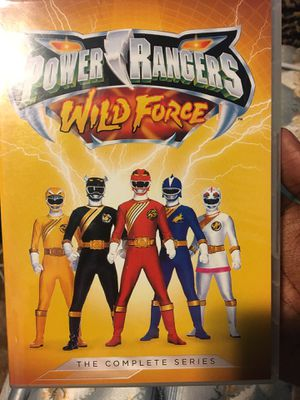 Power Rangers tv show kids show Wild Force complete series dvd PR Superheroes Disney for Sale in Stockton, CA