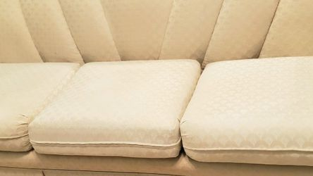 BEIGE SOFA WITH 3 SEATS-VERY COMFORTABLE! for Sale in Atlanta,  GA