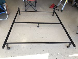 Queen Metal Bed Frame for Sale in Covina, CA