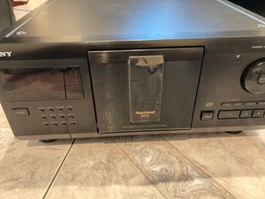 SONY Compact Disc Player (200 CD) for Sale in San Leandro, CA