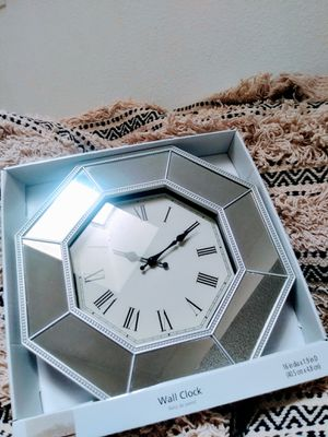 "New Mirrored Wall Clock 16"" for Sale in Phoenix, AZ"