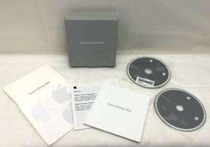 APPLE MAC OS X 10.5.2 INSTALL DISCS 1 AND 2 2008 MACBOOK IMAC MEDIA - Never Used These Disks for Sale in Portland, OR
