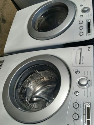 Washer and dryer set 90 days warranty for Sale in Alexandria, VA