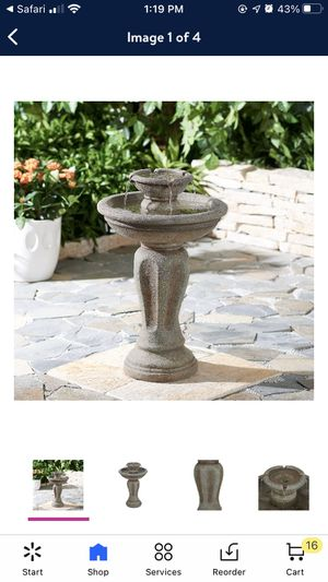 """Better Homes & Gardens 28"""" Loyola Two-Tier Water Fountain for Sale in Catonsville, MD"""
