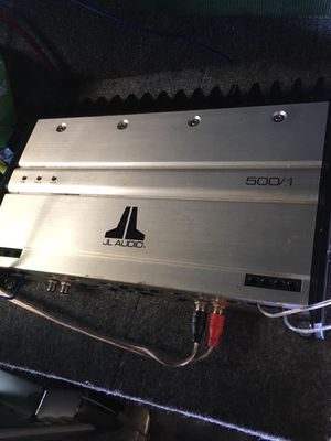 JL Audio 500/1 for Sale in Killingly, CT