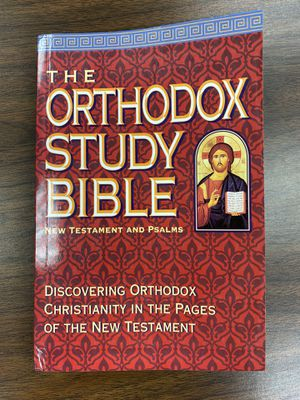 Orthodox Study Bible for Sale in Terre Haute, IN