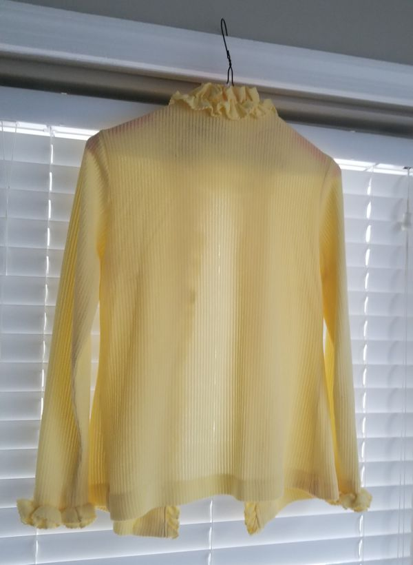 Mother Of The Bride Pale Yellow Sheath Dress W/Jacket/Size 10