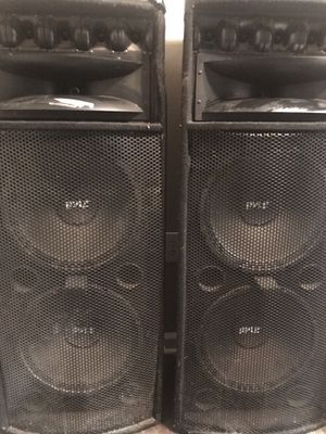 Pyle speakers for Sale in Houston, TX