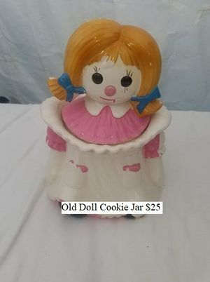 Old Doll Cookie Jar $25 for Sale in Dresden, OH