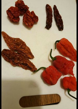 Dried peppers. Medium-hot to superhot varieties for Sale in Pittsburgh, PA
