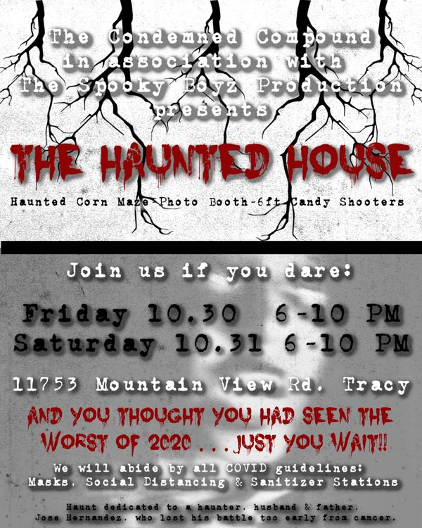 FAMILY FRIENDLY HAUNTED HOUSE🎃👻☠️