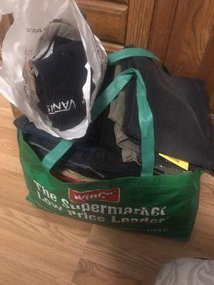 Huge bag Men's Medium Clothes Size 34 for Sale in Fresno, CA
