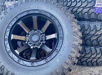 "Outlaw 17""  Capon  Wheels & Tires Deal 4 Capon Rims (Fitments 6x139, 6x135x 5x127 ) 4 CrossLeader 265/70R17 Tires Only $1250 for Sale in La Habra Heights,  CA"