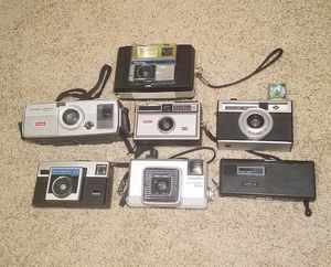 Vintage film cameras (7) for Sale in Austin, TX