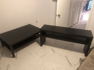Coffee table and tv stand for Sale in St. Petersburg, FL