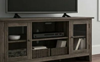 Arlenbry Chipped Gray Contemporary TV Stand | W275-68 for Sale in Washington,  DC