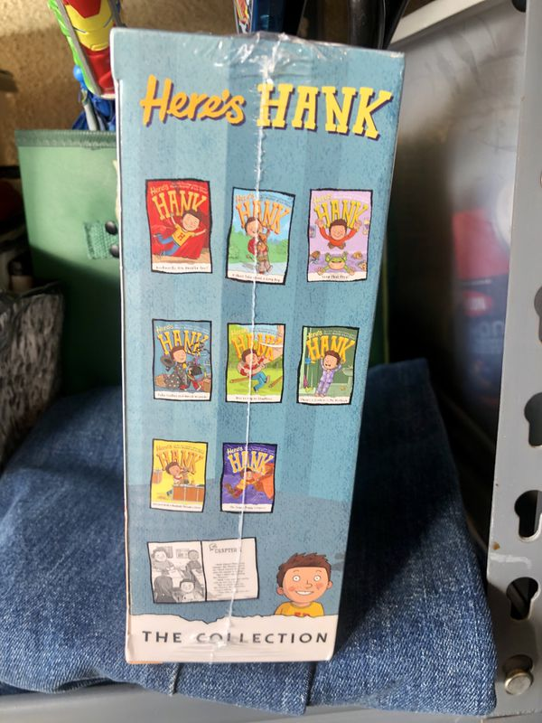 Kids Books-Here's Hank-Children's 8 Book Set