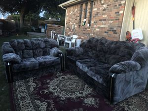 Two sofa and rug for Sale in Plano, TX