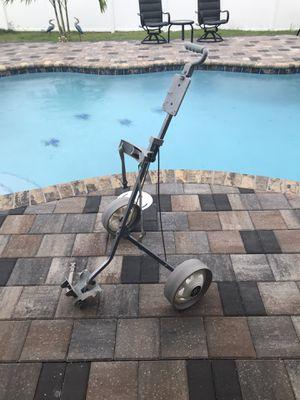 Foldable topflite aluminum golf push pull cart for Sale in Merritt Island, FL
