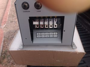 Tripp lite pure sine wave with 4 brand new agm batteries for Sale in Santee, CA