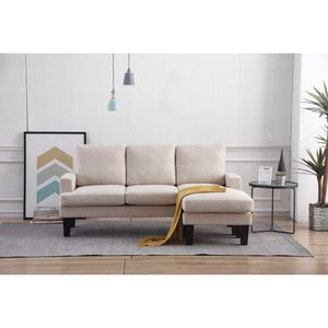 Beige Fabric Sectional Sofa for Sale in East Los Angeles, CA