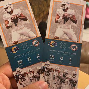 Tua First Start Commemorative Tickets for Sale in Miami, FL