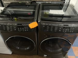 SAMSUNG FLEX WASHER AND DRYER SET OPEN BOX UNITS for Sale in Industry, CA
