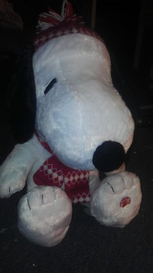 Snoopy plush toy with song for Sale in Silver Spring, MD