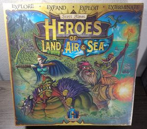 Heroes of Land, Air & Sea Board Game by Gamelyn - Scott Almes - BRAND NEW for Sale in Sun City, AZ