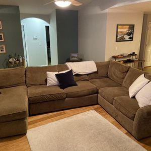 3-Piece Down Sectional for Sale in Vancouver, WA