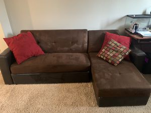Futon sectional sofa for Sale in Chino, CA