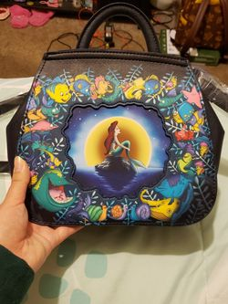 Disney The Little Mermaid Loungefly Backpack for Sale in Fresno,  CA