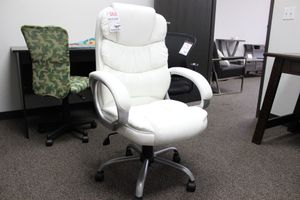 White High Back Office Chair, 1157WH for Sale in Downey, CA