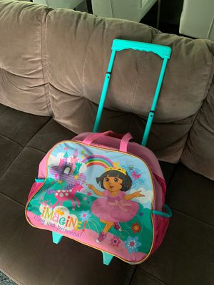 Dora the explorer backpack with wheels for Sale in West Palm Beach, FL