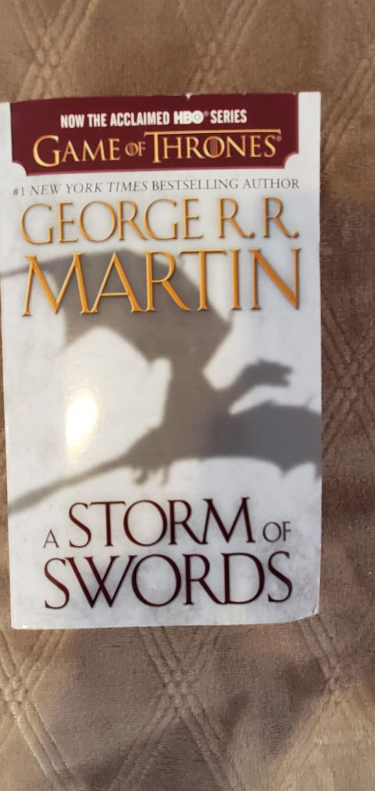 Game of Thrones A Storm of Swords