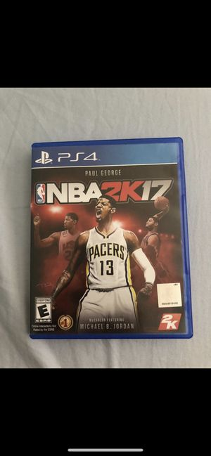 Ps4 nba 2k17 for Sale in Long Beach, CA