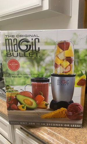 Magic Bullet 11 pc. Set Brand New for Sale in San Diego, CA