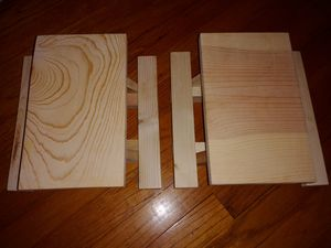New Handmade Mini Picnic Tables for Sale in Hammond, IN