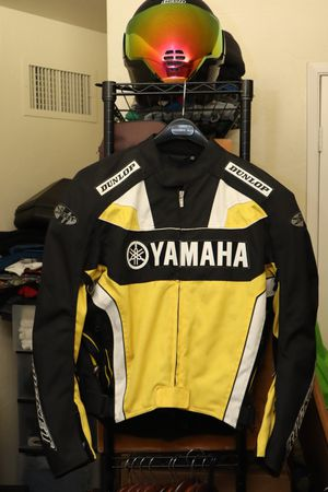 Joe Rocket Yamaha textile jacket large for Sale in Fresno, CA