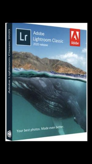 Adobe Lightroom Classic CC 2019 for Sale in Los Angeles, CA