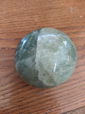 Green flourite palm stone crystal rock for Sale in Clinton, MO