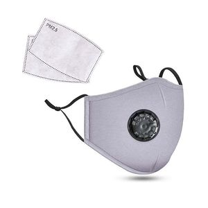 Washable 100% cotton with vent built in➕2pcs filters, gray for Sale in St. Louis, MO